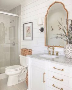 15 impressive french country bathroom design ideas for your inspiration 5 Country Bathroom Designs, Interior, Girls Bathroom, Home Decor, French Country Bathroom, White Bathroom, Bathrooms Remodel, Beautiful Bathrooms, Bathroom Inspiration