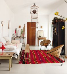 Home Interior Design Home Interior, Interior Decorating, Bohemian Interior, Interior Doors, Decorating Ideas, Decor Ideas, Sweet Home, Deco Boheme, Deco Design