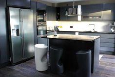An innova luca gloss white kitchen httpdiy kitchens an innova luca graphite handleless kitchen solutioingenieria Images