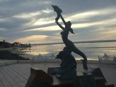 Mermaid Statue on the Malecon de La Paz BCS