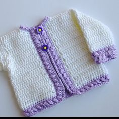 Cherise Baby Cardigan pattern by Maria Bittner, Pattern Paradise | Mad Mad Makers | http://www.ravelry.com/patterns/library/cherise-baby-cardigan-pdf14-128b