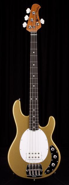 MUSIC MAN Classic Stingray 4 String Roasted Maple Neck El Dorado Gold   Guitar Center