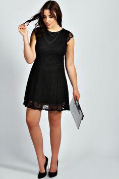 Ruby Lace Skater Dress