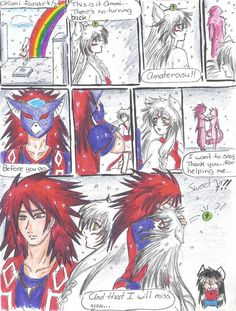 okami waka | Okami and Oki fan comic by ~sdark391 on deviantART