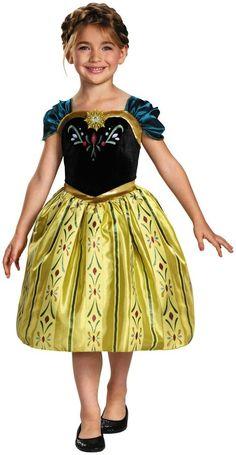 Frozen Anna Coronation Gown Classic - Medium (7-8)