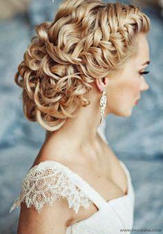 Vintage Hairstyles: Vintage Wedding Hair Styles