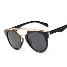 2016 New Luxury Brand Sunglasses Women Vintage Retro Designer Fashion Sunglass Men Retro Sun Glasses