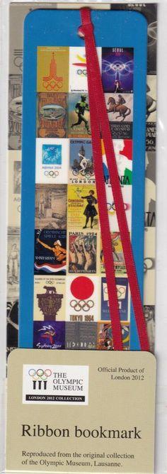 My Bookmarks, Ribbon Bookmarks, Lausanne, Olympics, London, Handmade, Hand Made, London England, Handarbeit
