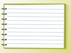 Notebook Paper Background for Powerpoint. Notebook Paper Background for Powerpoint. Word Notebooks, Interactive Notebooks, The Notebook, Notebook Paper, Letra Drop Cap, Background Powerpoint, Free Printable Tags, Power Points, Cover Letter Sample