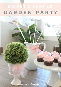To celebrate the end of a fun summer and the start of a new school year, my girls and I put together a Glittering Garden Party. The inspiration for this party came from the new #HatchimalsGlitteringGarden. Have you seen these yet? They are so much fun! See details + free invitations for a whimsical Glittering Garden Party! #ad