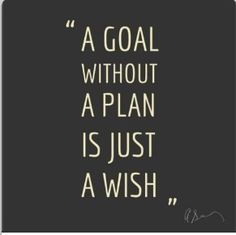 So start planning! Motivational quote
