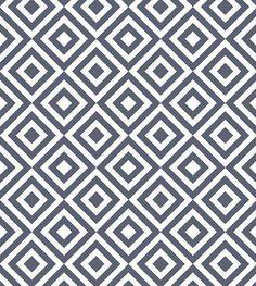 Papel de parede em tons azul marinho e branco - Geométrico 24