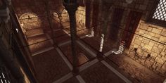 Medieval Hall UDK - Polycount Forum