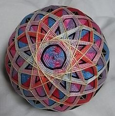 temari stitching