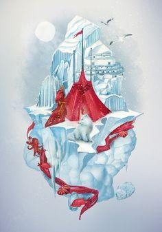 001 hot illustrations tatiana kazakova Hot Illustrations by Tatiana Kazakova