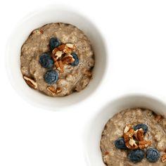 Pecan Blueberry Pie Breakfast Oats
