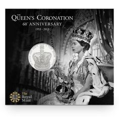 UK 2013 official coin design - Five Pound Coronation