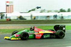Thierry Boutsen, Benetton B187 - Ford TEC 1.5 V6 (t/c - 4.0 bar limited) (Great Britain 1987)