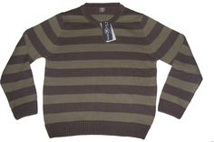 Green Multi Stripe Jumper