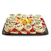 Assorted Pinwheel Wraps with Cheese Cubes Party Tray - Sam's Club