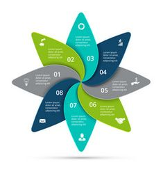 Cycle infographic with 8 options vector Circle Infographic, Infographic Templates, Free Vector Images, Vector Free, Circle Diagram, Circle Arrow, Process Chart, Computer Vector, Vector Online