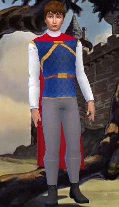 Hola buenas :) . A petición de BloodSims hoy os traigo el traje del príncipe de Blancanieves . Para algunos es Florian , Ferdinand , Fernand...
