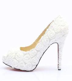 Tendências de Sapatos de Noiva 2015