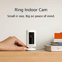Ring Indoor Cam, Compact Plug-In HD security camera with two-way talk, White, Works with Alexa - The Latest Technology Site Wireless Security Cameras, Security Camera System, Security Cameras For Home, Electronics Projects, Best Home Security, Ring Doorbell, Camera Reviews