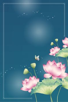 Simple Summer Lotus Leaf On New Theme Background Lotus Flower Wallpaper, Blue Wallpaper Iphone, Flower Backgrounds, Wallpaper Backgrounds, Wallpapers, Summer Background Images, Collage Background, Theme Background, Cartoon Leaf