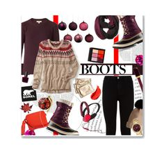 """Introducing the 2015 Winter Collection from SOREL: Contest Entry"" by bamaannie ❤ liked on Polyvore featuring SOREL, Pistil, Garance Doré, Burberry, maurices, 7 For All Mankind, Anya Hindmarch, RGB Cosmetics and Kenneth Jay Lane"