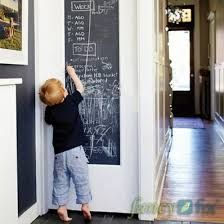 Blackboard Chalkboard Wall Stickers Removable Vinyl Decor Mural Decals in Home, Furniture & DIY, Home Decor, Wall Decals & Stickers Chalkboard Stickers, Diy Wall Stickers, Removable Wall Decals, Chalkboard Paint, Chalk Paint, Large Chalkboard, Chalk Wall, Magnetic Chalkboard, Cheap Stickers