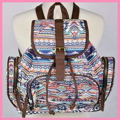 Host Pick  Aztec Print Backpack