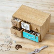 Joyero Stack de madera Absolutely Everything, Shabby, Usb Flash Drive, Decorative Boxes, In This Moment, The Originals, Gifts, Instagram, Sticks