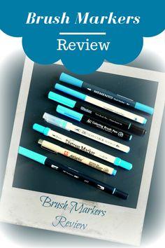 Brush Lettering, Tombow, KOI, Sakura, Distress Marker, Bullet Journal