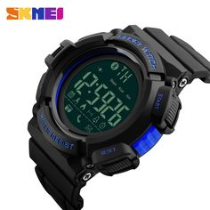 Inventive Sports Watch Men Heart Rate Smart Watches Bluetooth Pedometer Calorie Rechargeable Led Digital Wristwatch Reloj Hombre Skmei Men's Watches Watches