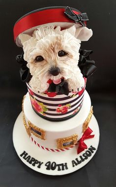 8 Best Dog Cakes Images
