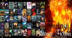Mega Giveaway!! Win FIFTY #SF #ScienceFiction and #Fantasy #ebooks #kindle #amreading