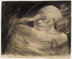 Paul Gauguin (1848-1903). Madame la Mort, vers 1891