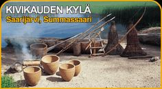 Ancient village in Saarijärvi Finland - about 120 miles south of the Arctic Circle Helsinki, Arctic Circle, Stone Age, Prehistory, Watering Can, Ancient History, Vikings, Nostalgia, Image