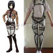 #Ackerman #Anime #Attack #belt #Corps #cosplay #cosplaydressattackontitan Cosplay Dress
