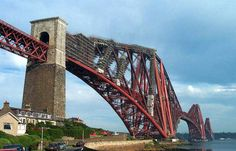 "a verdadeira ponte ""The Forth Bridge"" -  Forth Valley, Scotland"