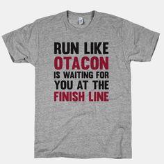 Run Like Otacon Is Waiting For You At... | T-Shirts, Tank Tops, Sweatshirts and Hoodies | HUMAN