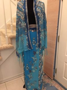 Sarong and Scarf Set - Batik