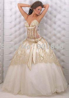 Wedding Dresses on Pinterest   Wedding Dressses, Big Fat Gypsy Wedding ...