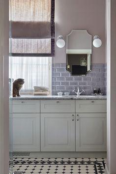 Московская квартира с окнами на кухне и в ванной – Красивые квартиры