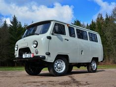 Ancient but Brand New: 2016 UAZ 2206 4X4 Minibus |  Bring a Trailer