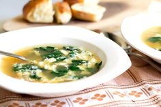 Swiss Chard Stracciatella Soup: an Italian egg drop soup with the addition of swiss chard. Tasty, easy, budget wise, It is a perfect lunch or dinner option.