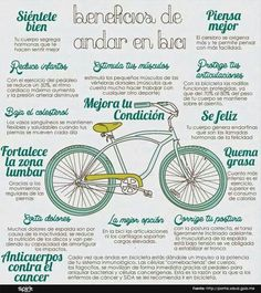10 raons per anar bicicleta Bike Poster, Cycling Tips, Bike Rider, Gym Style, Cool Bicycles, Biceps, Fitness Tips, Lose Weight, Exercises