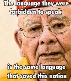 True hero - Navajo Code Talker -- the story of the Code Talkers is truly awesome, a word that is over-used today, but applies to these men and their service.