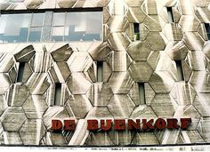 De Bijenkorf, Rotterdam (scanned) by strangebehaviour, via Flickr